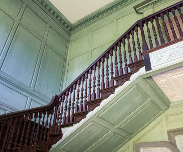 About Page - staircase